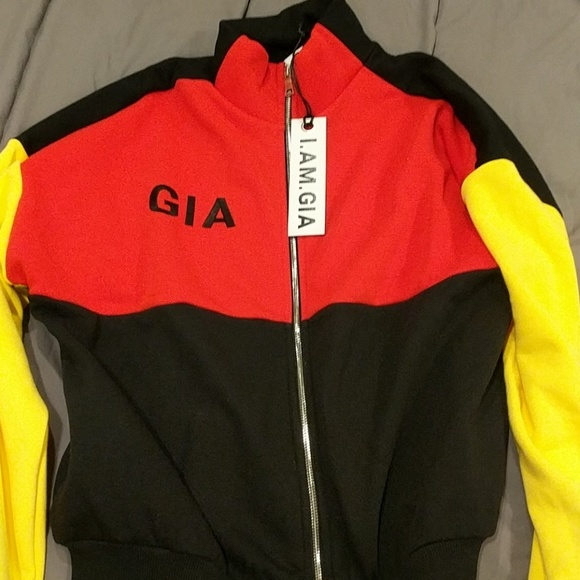 929131ec3 I AM GIA Blaster Jacket Size M NWT